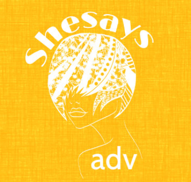 logo shesays Yellow: la factory